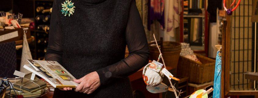 Leanne O'Sullivan from Kimono House will be teaching a boro workshop at Shizuka Ryokan in early 2020